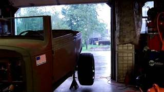EVELYN #185 - Hurricane Irene moves in on NH and first attempt at a Hotrod DRIVE !