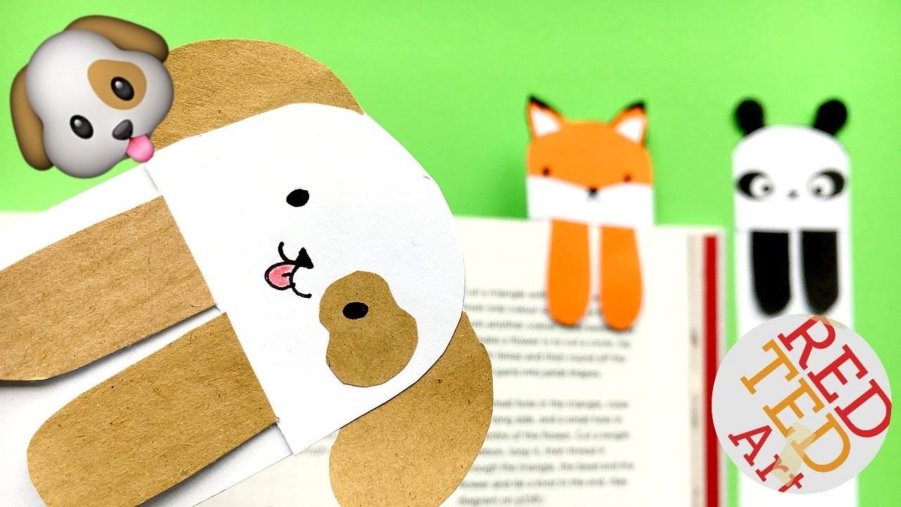 diy - cute and easy bookmark ideas - how to make a bookmark diy