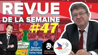 #RDLS47 : JOHNNY HALLYDAY, DÉONTOLOGIE MÉDIATIQUE, PAUVRETÉ, GLYPHOSATE