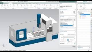 Simulação de usinagem ISV com maquina SFY 5AX 2000 - NX10