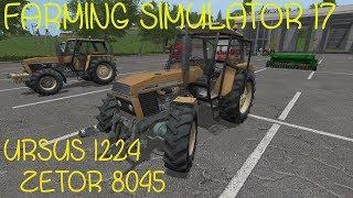 🚜URSUS 1224 / ZETOR 8045 / SIEWNIKI / Farming Simulator 17 Mody