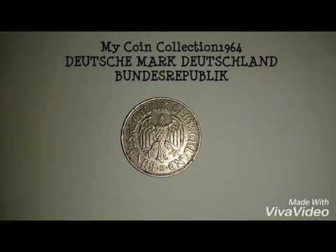 My Coin Collection 1964 DEUTSCHE MARK DEUTSCHLAND BUNDESREPUBLIK