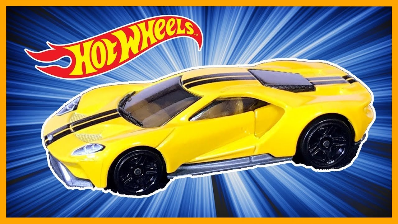 Ford Gt Yellow Track Test Review Hot Wheels