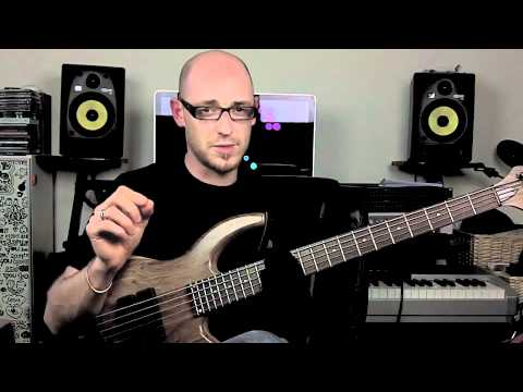 Jazz lick for bass - Major 7th - Bass Lesson with Scott Devine (L#25)