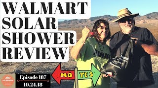 Walmart Solar Shower Review: Does This Portable Solar Shower Really Work? S1.E187
