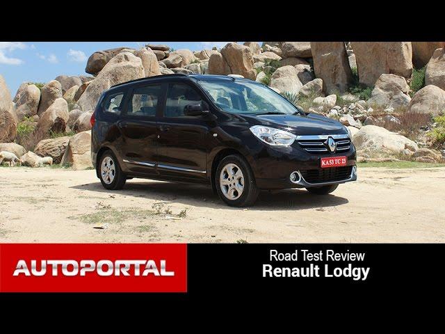 Renault Lodgy Test Drive Review - Autoportal