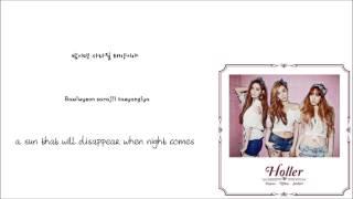 TTS-Adrenaline [아드레날린] (Han/Rom/Eng lyrics)