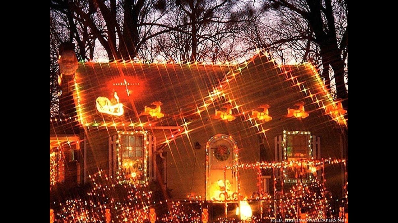 Christmas lighting installation how to hang