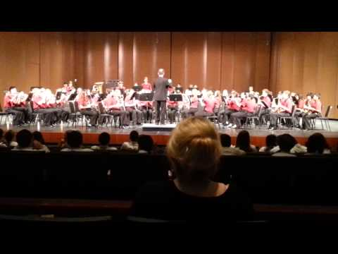 "Travis Ranch Concert Band performs ""BrookPark Overture"" by James Swearingen 2014"