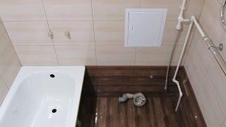 Совмещенный санузел-стены,пол плитка.(, 2016-10-18T07:48:50.000Z)