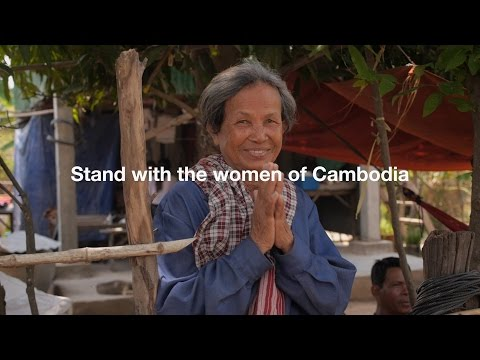 Stand with the women of Cambodia