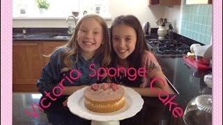 Victoria Sponge Cake Recipe🍰🍓❤️