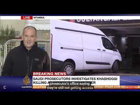 Update on Jamal Kashoggi murder 25 10 2018