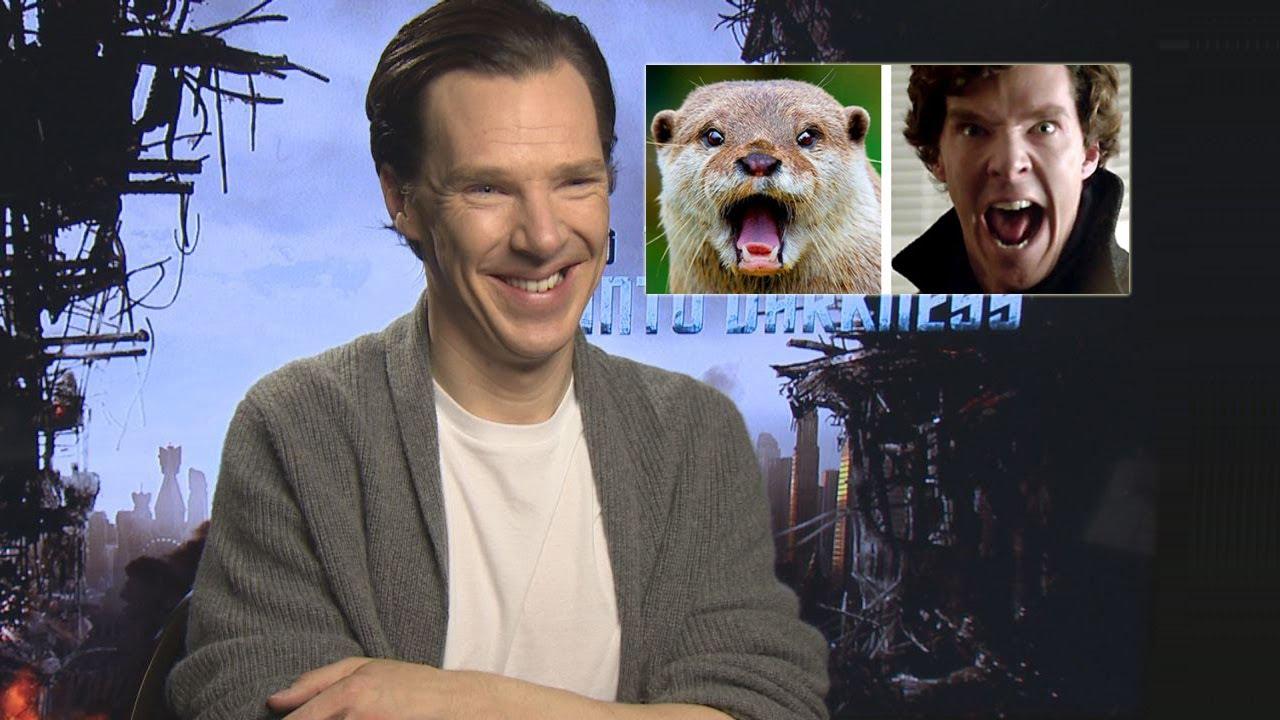 Benedict Cumberbatch Talks About His Otter Meme - YouTube Benedict Cumberbatch