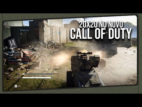 20x20 no Novo Call of Duty!? | Modern Warfare Multiplayer Gameplay