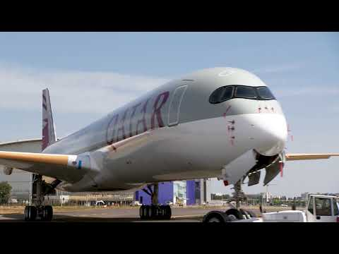 Qatar Airways' Airbus A350-1000 In The Making