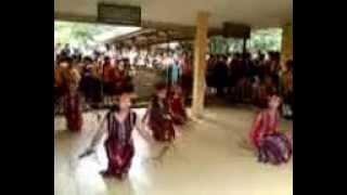 Tari Gantar Kreasi Gegoo Goraaq) by SMPN 1 Sendawar mp4