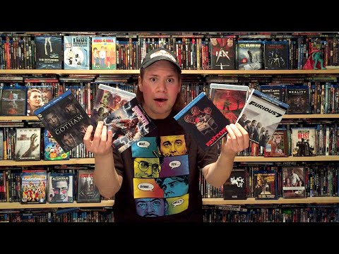 My Blu-ray Collection Update 9/5/15 : Blu ray and Dvd Movie Reviews