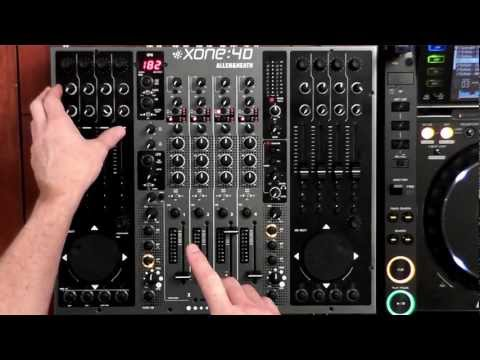 Detailed Review of Allen & Heath's Xone 4D Mixer/Controller/Soundcard