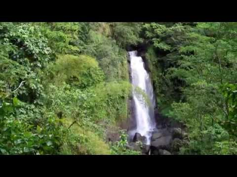 Spanny Twin Waterfalls - Dominica