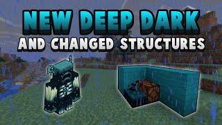 Minecraft 1.17 Is Changing Structures & The Deep Dark!