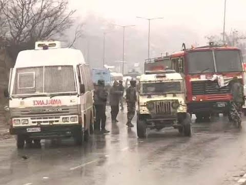 18 CRPF personnel killed in IED blast on Srinagar-Jammu highway