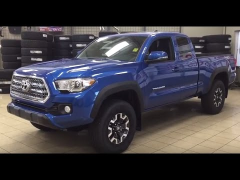 2016 Toyota Tacoma Trd Off Road >> 2017 Toyota Tacoma Access Cab TRD Off Road Review - YouTube