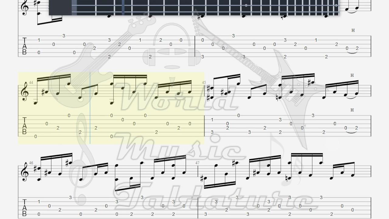 Landslide Guitar Arrangement Topsimages