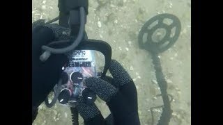 "Diving with the Detectorpro ""Underwater"""