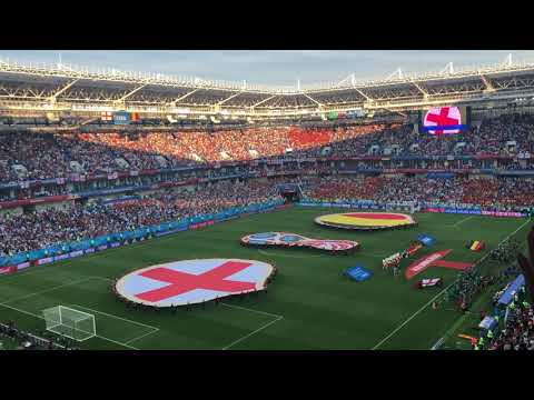 GOD SAVE THE QUEEN (NO SURRENDER) England v Belgium  World Cup 2018