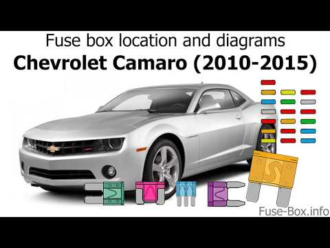 [DIAGRAM_5LK]  Fuse box location and diagrams: Chevrolet Camaro (2010-2015) - YouTube | 2010 Camaro Engine Diagram |  | YouTube