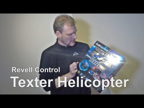 Revell Control R/C 3 Kanal IR Helicopter Texter unboxing