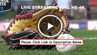 Peoples Academy vs. Enosburg Falls - varsity High School Baseball 2019 | Live Stream