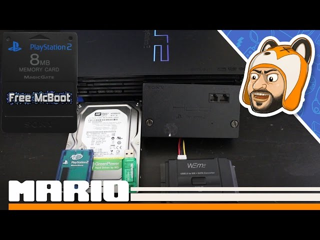 How to Easily Softmod ANY Fat PS2!   FreeMCBoot & FreeHDBoot Install