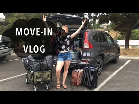 MOVE-IN VLOG | San Diego State University
