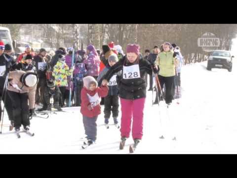 Лыжный пробег к месту гибели Гагарина