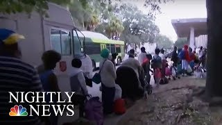 Irma  Hundreds of Thousands on Georgia Coast Evacuate   NBC Nightly News