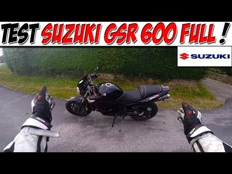 #MotoVlog 41 : TEST SUZUKI GSR 600 / Un Bon Roadster Mid-Size !