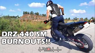 SUZUKI DRZ440 SM | It's time for a NEW rear tire!