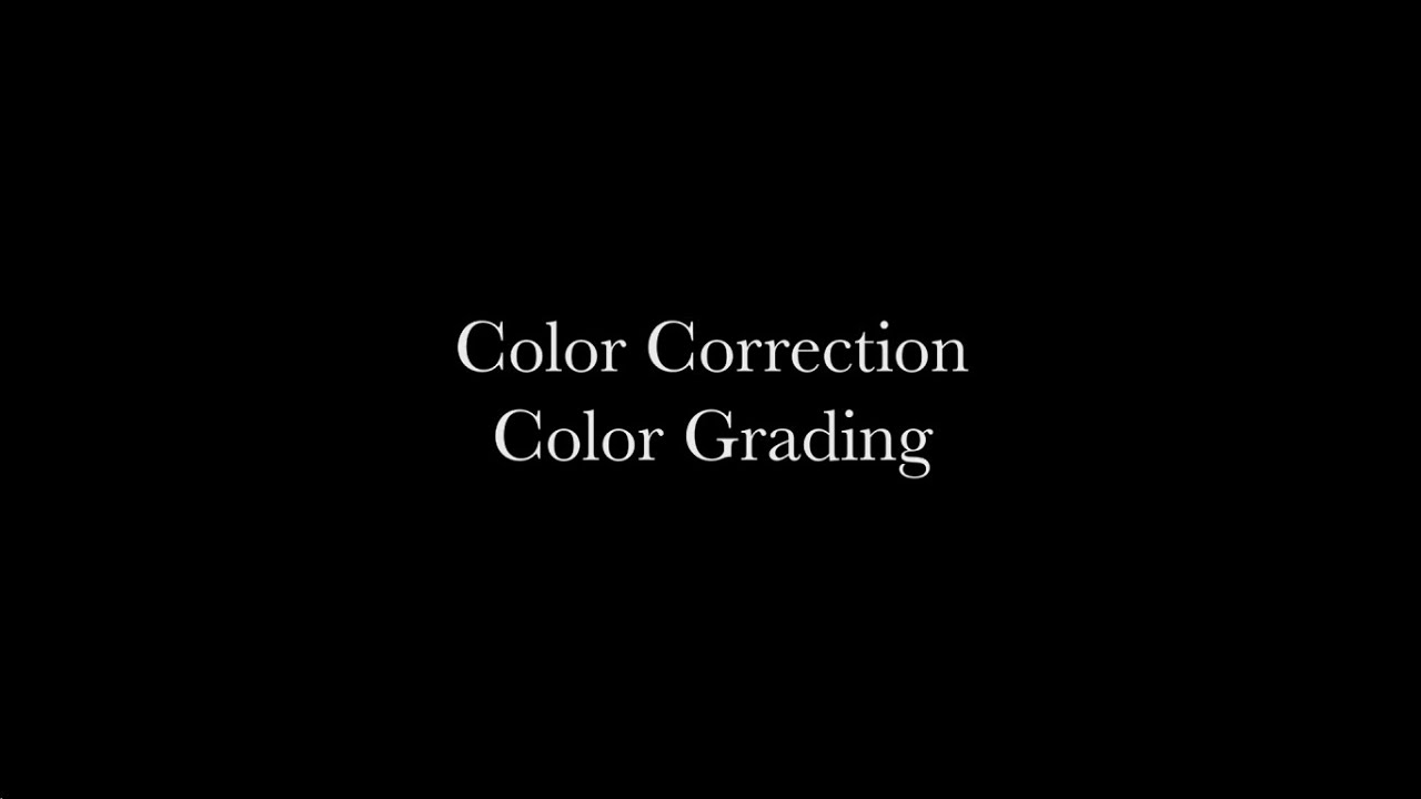 color correction and grading like a Premiere pro lumetri: color correct like a pro learn the essentials of color philosophy and perform technical color correction and grading tasks 47 (431 ratings).