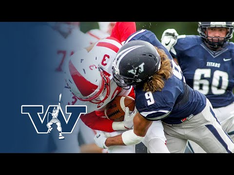 9-2-17 Football vs. #16 Wittenberg Highlights