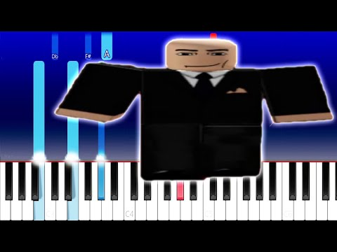 Wide Putin walking (Piano Tutorial)