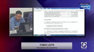 Audiência Pública 20/02/2020 - Prestação de contas  3º Quadrimentre 2019