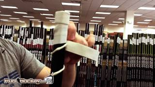 Taping The Knob of Your Hockey Stick