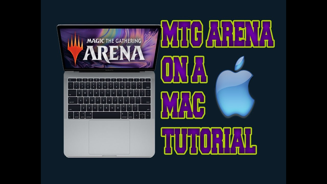MTG Arena ON THE MAC! (Setup tutorial) No vm required!