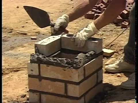 How To Lay Brick Columns and Soldier Courses!