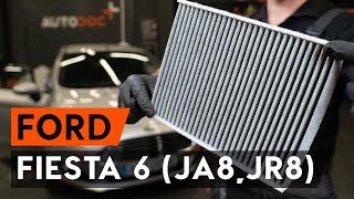 Kuinka vaihtaa raitisilmasuodatin FORD FIESTA JA8 -merkkiseen autoon [AUTODOC -OHJEVIDEO]