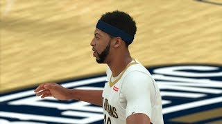 NBA Playoffs 2018 Portland Trailblazers vs New Orleans Pelicans Full NBA Game NBA 2K18