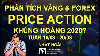 Phân Tích Vàng & Forex Theo Price Action - Khủng Hoảng 2020? - Tuần 16/03-20/03