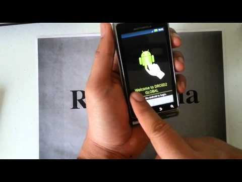 How to bypass the activation screen on the Motorola Droid 2 Global Verizon